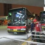 初めての夜行バス