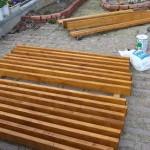 薪棚の製作(その2)