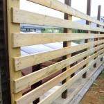 木塀のDIY