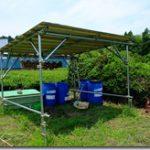 畑拡張と小屋作り