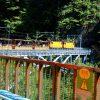 黒部渓谷鉄道と名剣温泉